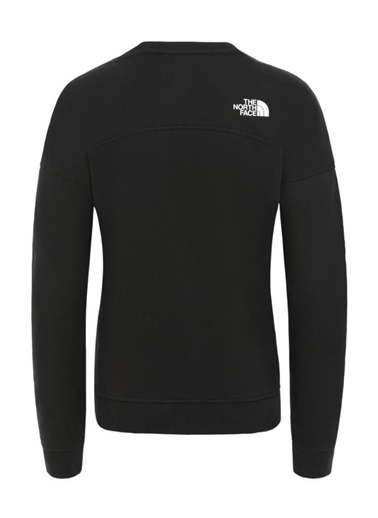 The North Face Drew Peak Crew Kadın Sweatshirt Siyah Siyah